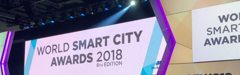 Smart Docklands shortlisted for Innovative Idea Award at World Smart City Awards 2018